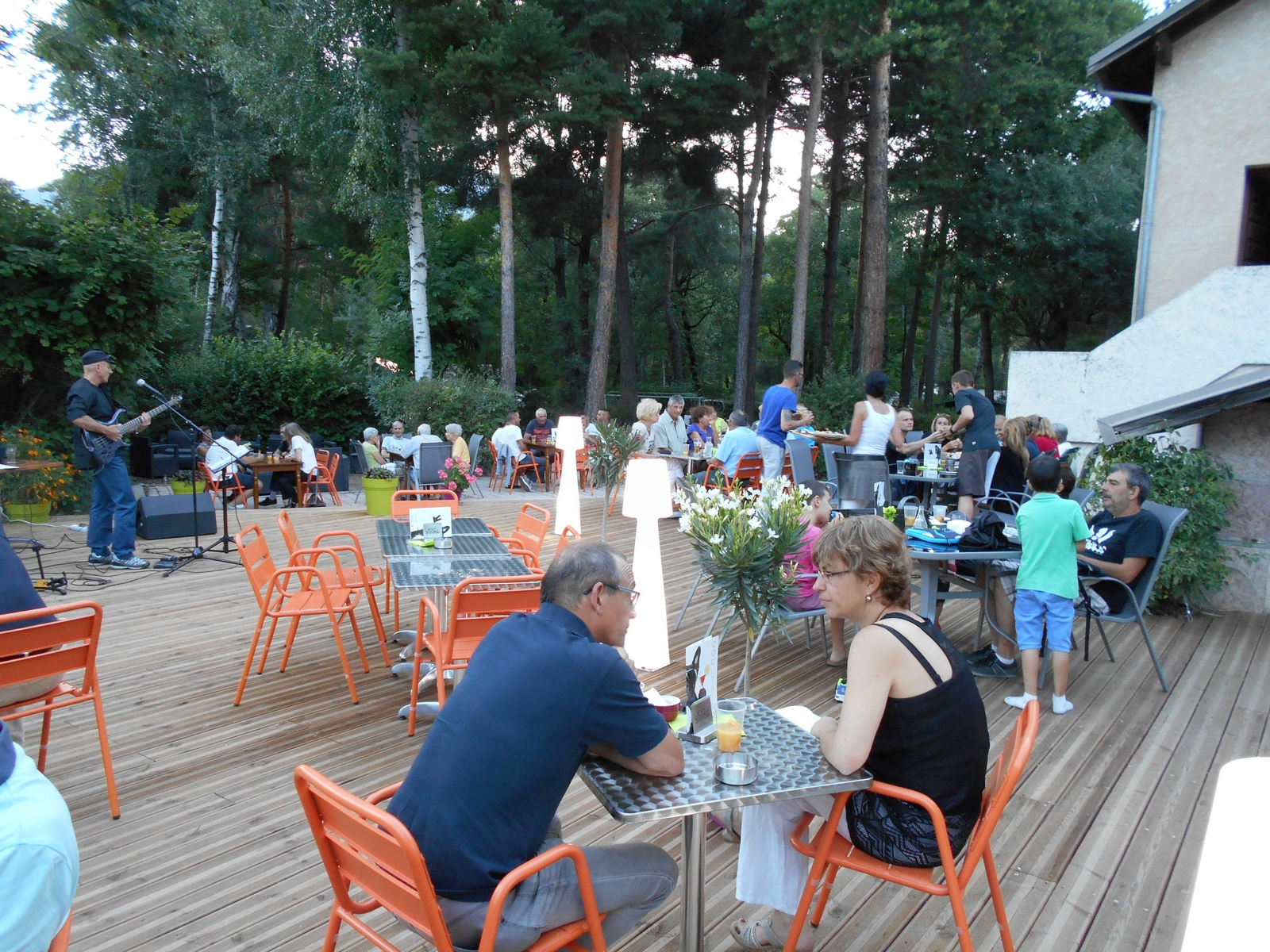 Animations au camping camping guillestre dans for Camping queyras piscine